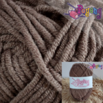 Sweet Milk Cotton Poyeng SM C3 (Umber Chocolate)